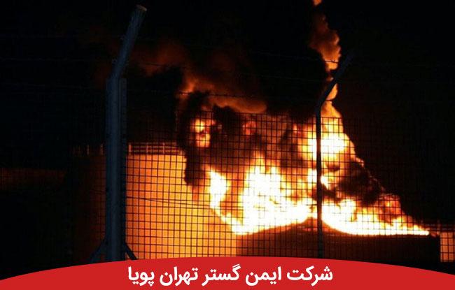 دومین میدان نفتی جهان (برقان) دچار آتش سوزی شد